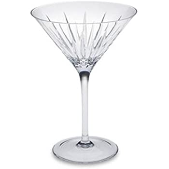 Reed & Barton Soho Crystal Martini Glass, Set of 2