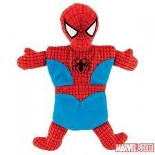 Spiderman Figure Squeek Dog Toy Spider-Man