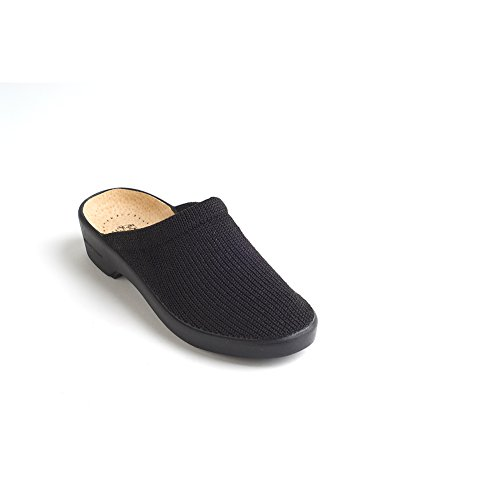 Arcopedico 1001 Light Womens Clogs and Mules Shoes, Black, Size - 41