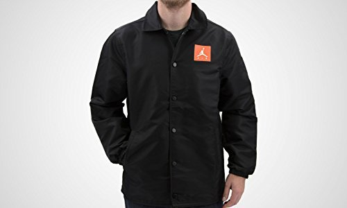 Nike Mens Like Mike Coaches Jacket AJ1177-010_2XL - Black
