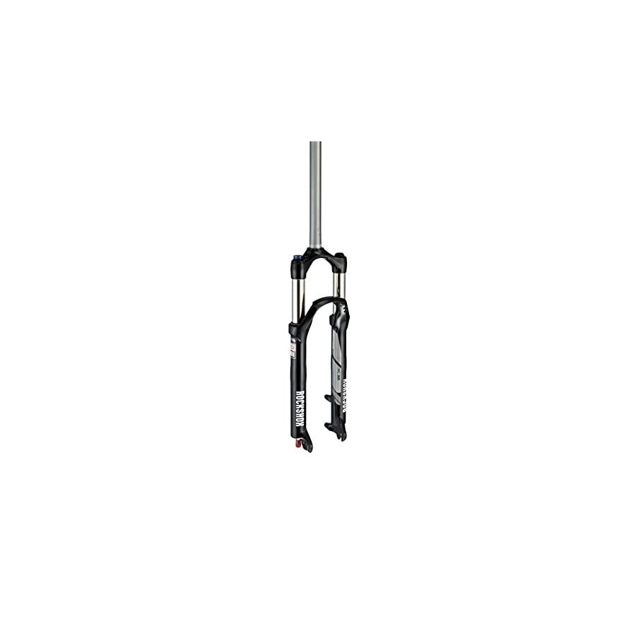 "RockShox Recon TK Solo Air 100 Suspension Bicycle Fork with Turnkey Crown Adjust Aluminum Steerer 1 1/8"" Disc"