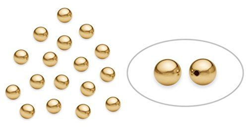 100pcs x 14k Gold on Sterling Silver Seamless Smooth Round Spacer Beads 2mm Silver Beads #SS255 (2mm Cube Beads)