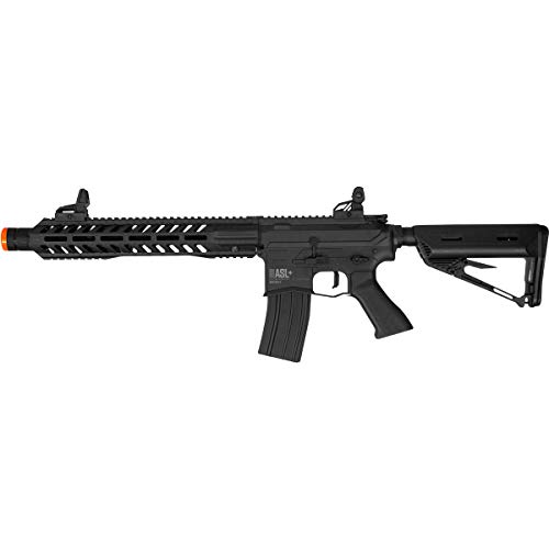 Valken ASL+ Series M4 Airsoft Rifle AEG 6mm Rifle (Whiskey Hi-Velocity)