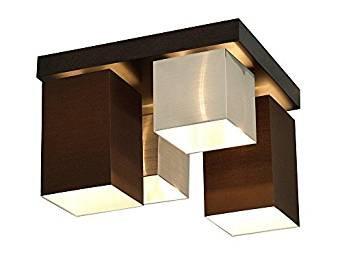 Moderna Pantalla de Tela plafón plástico lámpara de techo ...
