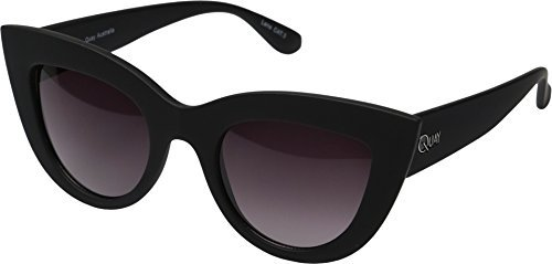 QUAY AUSTRALIA Women's Kitti Black/Smoke Lens Sunglasses by Quay - Sunglasses Kitti