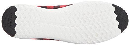 Cole Haan Heren Grandpro Tennis Sneaker Buffalo Plaid / Optic White