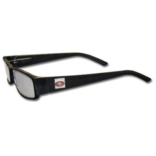 NFL Black Reading Glasses (+2.25, San Francisco - San Reading Glasses Francisco