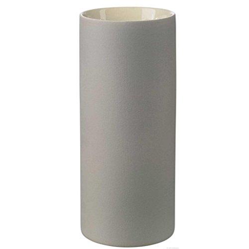 ASA 2591241 Vase Keramik, 24 x 10,5 x 24 cm, grau