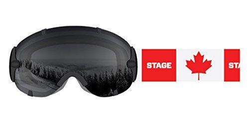 Stage Ski Goggle Canada - BK/RED - Amazon Goggles Ski Canada