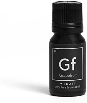 Vitruvi Grapefruit Essential Oil, 100% Pure Undiluted Premium Grade Essential Oil, All Natural (.34 oz)