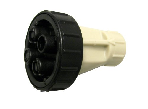 Nozzle Cone Adjustable - Chapin 6-4566 4-Position Adjustable Nozzle For Cone, Fan, Straight Stream and Mist Applications