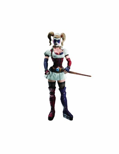 DC Direct Batman: Arkham Asylum Series 1: Harley Quinn Action Figure