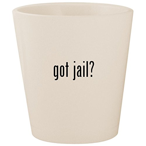 got jail? - White Ceramic 1.5oz Shot Glass for $<!--$15.95-->