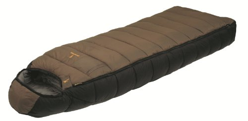 Browning Camping McKinley 0-Degree Nylon Diamond Ripstop Oversized Hooded Rectangle Sleeping Bag (36 x 90-Inch), Outdoor Stuffs