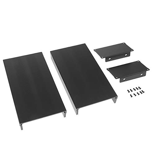 Baosity Aluminum Project Enclosure Extruded Electronic L Type Box Case DIY with Screws-105x55x200mm