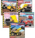 img - for Tonka  If I Could Drive Set: If I Could Drive a Bulldozer!, If I Could Drive a Dump Truck!, If I Could Drive a Fire Truck!, If I Could Drive a Loader!, and If I Could Drive a Mixer! (5-Book Set) book / textbook / text book