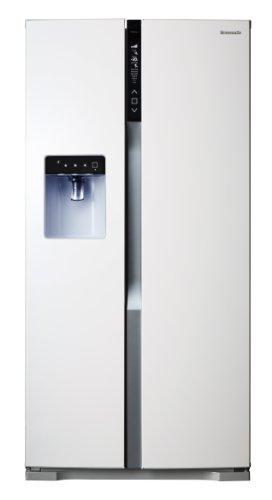 Panasonic NR BG53VW2 W Side By Side / A++ / Höhe 186 Cm / 346 KW/Jahr / 324  L Kühlteil / 206 L Gefrierteil / Twin Eco Kühlsystem / VitamineSafe Mit  LEDs Zur ...