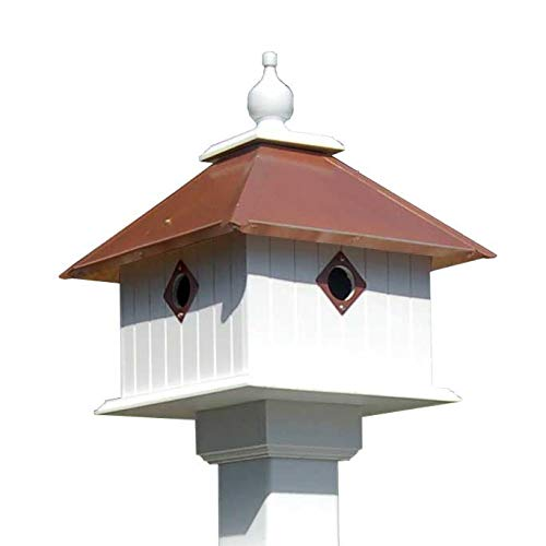 BestNest Wing & A Prayer Carriage Bird House, Hammered Copper Colored Roof Review