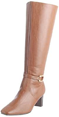 Annie Shoes Women's Candice Boot,Brown,7 WW US