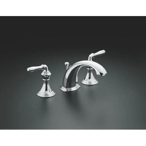 Kohler K 394 4 Pb Devonshire Widespread Lavatory Faucet Import It All