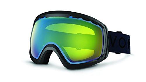 Veezee - Dba Von Zipper Feenom N.L.S. Ski Goggles, Black Gloss/Yellow Chrome (Feenom)