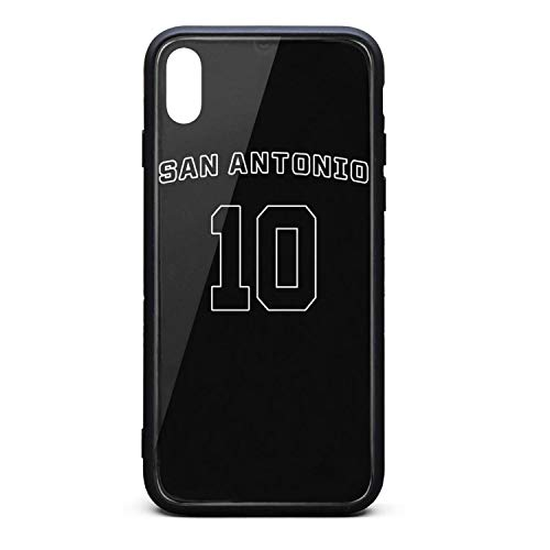 3D Phone Cases for iPhone X,Xs,Xs Max Anti-Slip Shockproof Ultra Slim Fashionable Transparent Tempered Glass Back Covers Durable PC TPU Hybrid Protective Shock Absorption Glossy