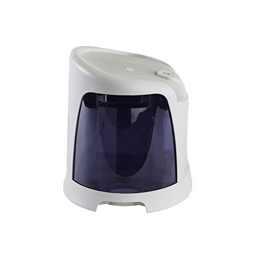 AirCare 3D6 100 Mini-Console-Style Evaporative Humidifier, White and Midnight Blue by AirCare (Image #3)