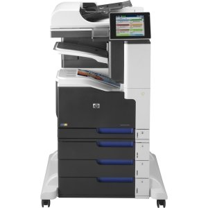 HP LaserJet 700 M775Z Laser Multifunction Printer - Color - Plain Paper Print - Floor Standing - Printer, Scanner, Copier, Fax - 30 ppm Mono/30 ppm Color Print - 600 x 600 dpi Print - 30 cpm Mono/30 cpm Color Copy - Touchscreen - 600 dpi Optical Scan - Au
