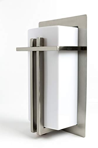 LJ OutDoor Light Wall Sconce 4216 Stainless Steel Modern Design Outdoor 12