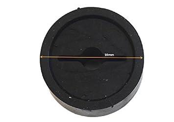 Black Winch Cable Stopper,Rubber Winch Stopper for ATV Winch Line,Winch Cover