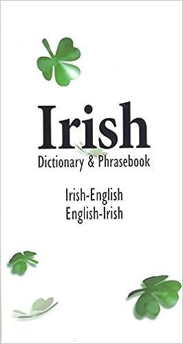 Irish-English English-Irish Dictionary /& Phrasebook
