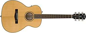 Fender PM-TE Standard Travel Acoustic-Electric Guitar