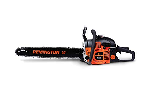 Remington RM4620 Outlaw 46cc 2-Cycle 20-inch Gas Powered Chainsaw with Carrying Case (Renewed)
