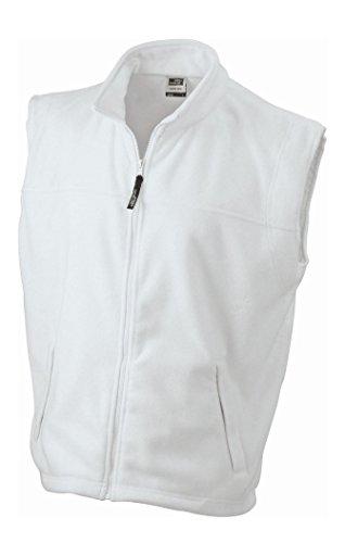 Termico Fleece In White Vest Gilé Pesante aqfwzB