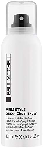 Paul Mitchell Super Clean Extra Finishing Spray Firm Style Unisex, 3.5 Ounce