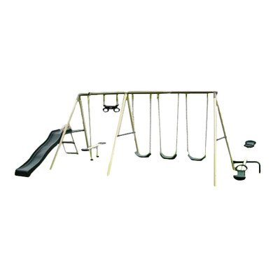 41577t Flexible Flyer Fun Plays Fantastic Swing Set Competitive Edge