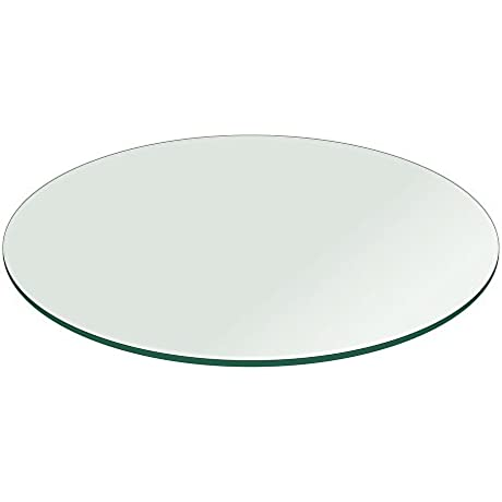 Glass Table Top 36 Inch Round 1 2 Inch Thick Flat Polish Tempered