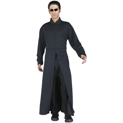 Matrix Neo Adult's Large Costume Trench Coat + Glasses - http://coolthings.us