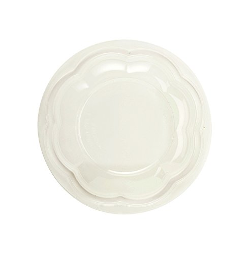 (World Centric's Compostable PLA LID for 24-48 Ounce Clear PLA Salad Bowls (Package of 200))