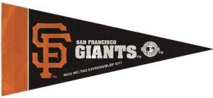 Rico Industries MLB San Francisco Giants Pennant Mini (8 Piece), One Size, Team ()