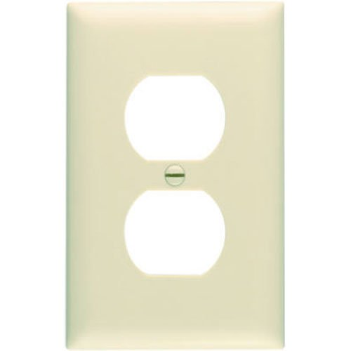 pass-seymour-tp8icp-trademaster-one-gang-duplex-outlet-wall-plate-ivory-10-pack