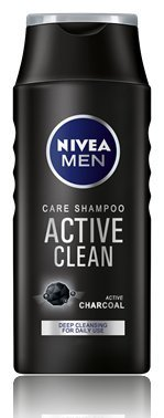 Price comparison product image Nivea Men Care shampoo Active Clean Charcoal Deep cleansing for daily use 250ml