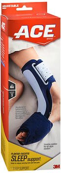 Ace Plantar Fasciitis Sleep Support One Size Adjustable - 1 ea., Pack of 5