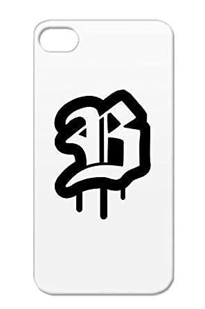 Shockproof Black Rap B Symbols Shapes Old School Name Letter Cool