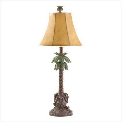 Tropical Palm Tree Lamp Monkeys product image