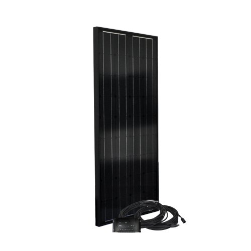 Instapark SP Series Mono-crystalline Photovoltaic PV Solar Panel (Charge Controller Included, 100 Watts)