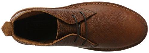 JACK & JONES Herren Jfwgobi Tumbled Leather Brown Stone Desert Boots Braun (Brown Stone)
