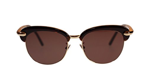 pomellato-sunglasses-pm0021s-002-havana-with-brown-lens-round-52mm-authentic