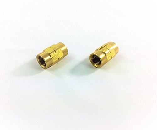 Inverted Flare Unions for 3/16' Tube with 10x1mm Threads (Pack of 2) The Stop Shop