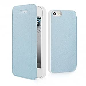 MOFI Trendy Design PU Leather Protector Case For iPhone 5 5S @ Color==Pink